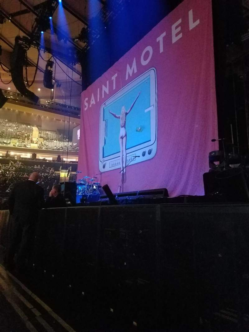 Seating View For Madison Square Garden Section C Row 2 Seat 13