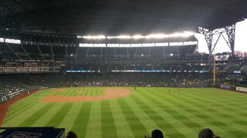 Safeco Field, section: CAFMI, row: 2, seat: 32