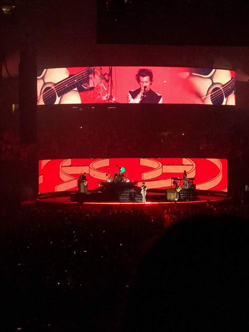 Madison Square Garden, section: 101, row: 16, seat: 16