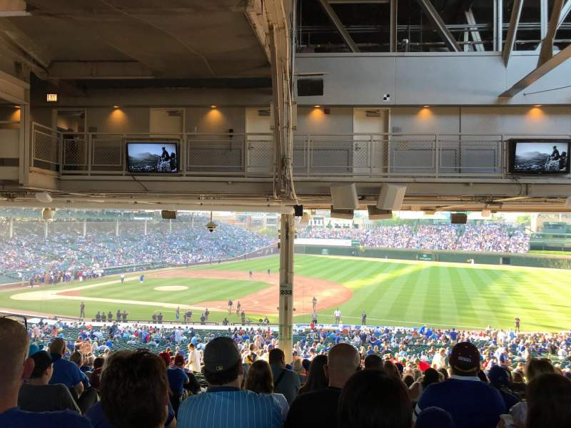 Wrigley Field, section: 233, row: 22, seat: 3