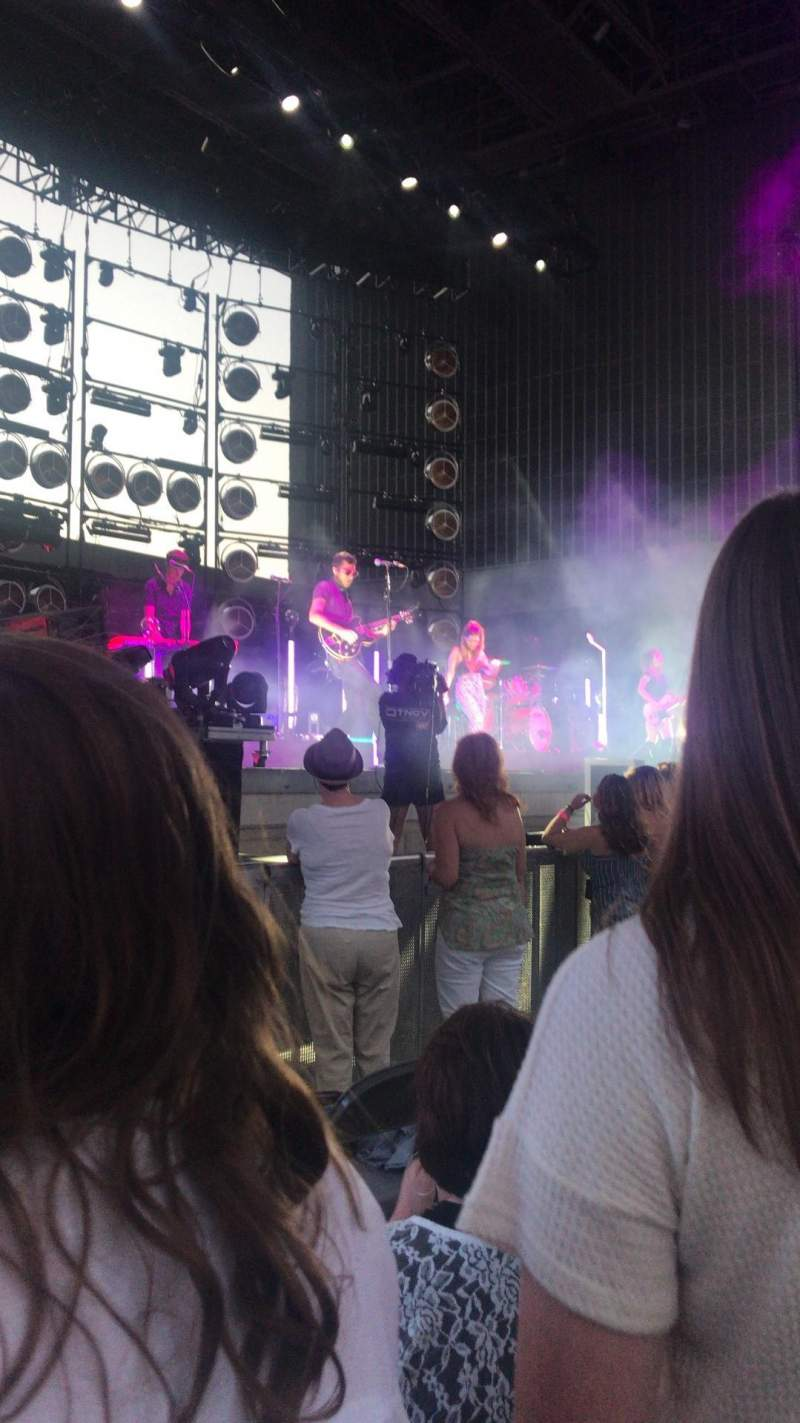Ascend Amphitheater, section: 103, row: EE, seat: 9