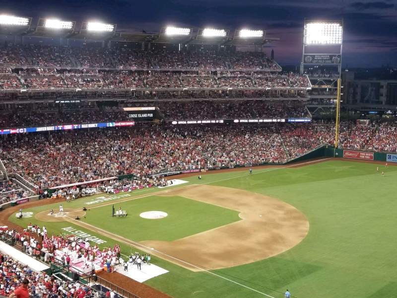 Nationals Park, section: 224, row: T, seat: 7
