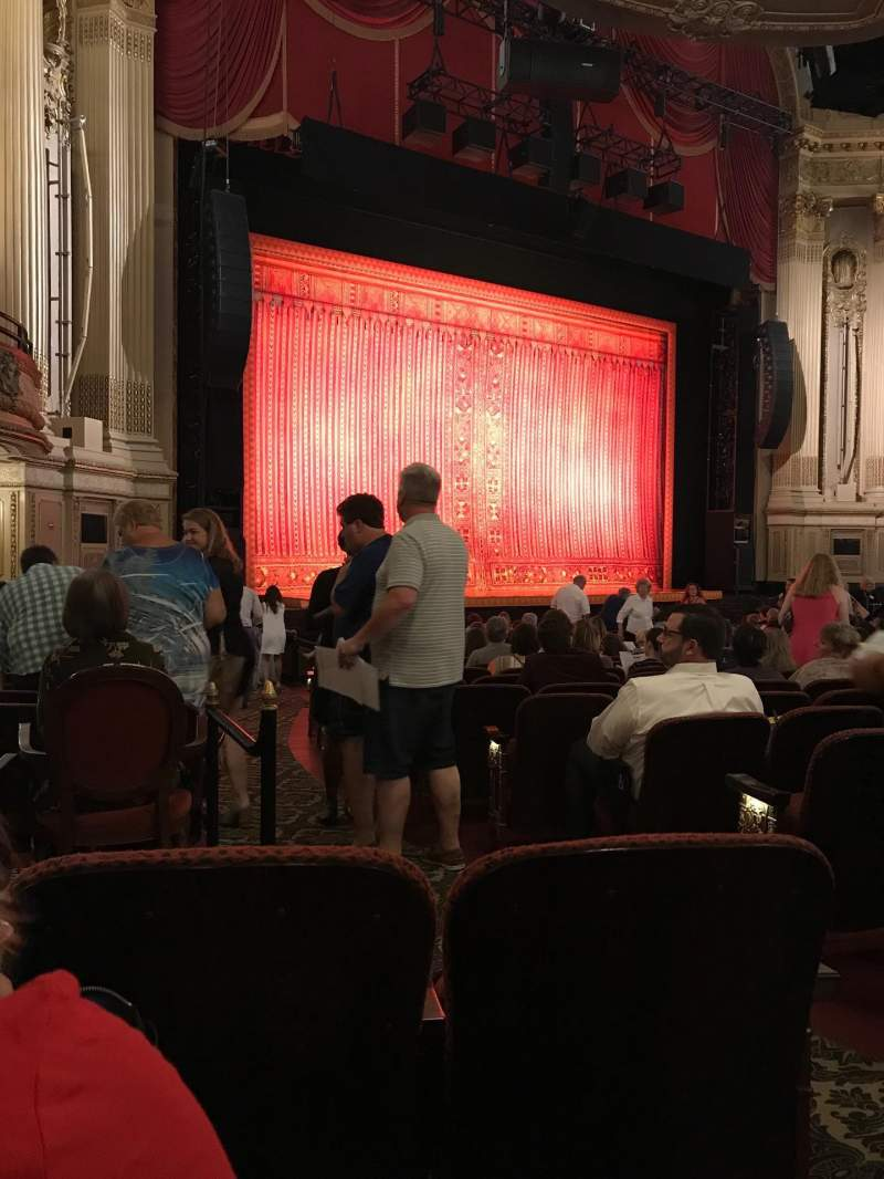 Seating view for Citizens Bank Opera House Section Orclft Row P Seat 35