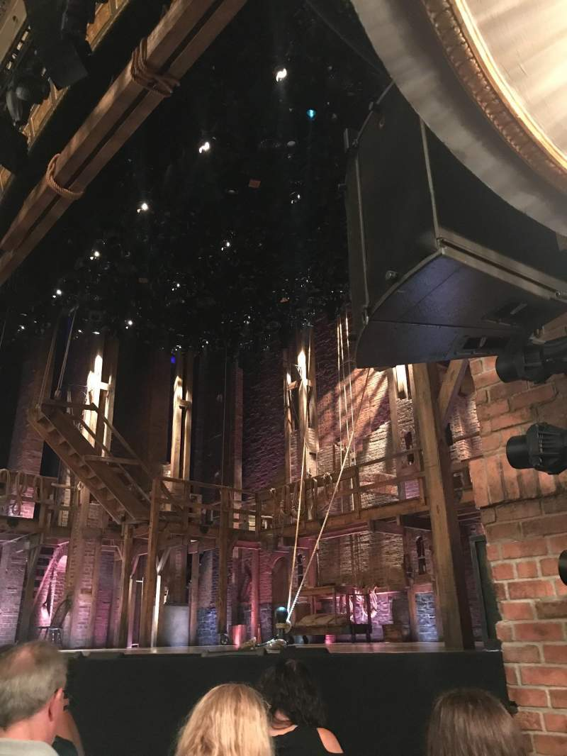 Seating view for Richard Rodgers Theatre Section Orchestra R Row C Seat 16