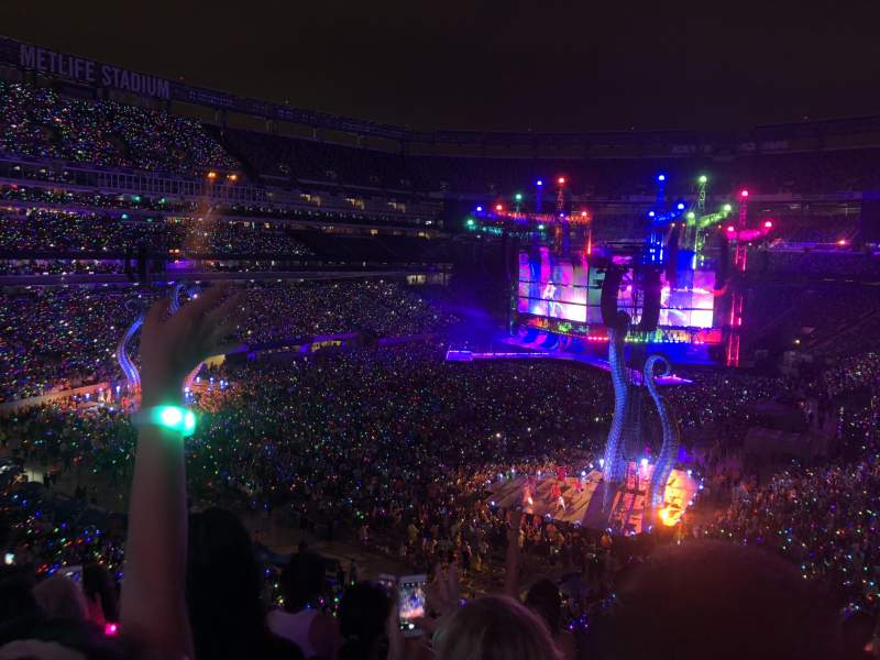 Metlife Stadium Section 222a Row 6 Seat 3 Taylor Swift Tour Reputation Stadium Tour Shared Anonymously