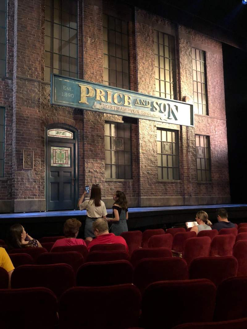 Al Hirschfeld Theatre, section: Left Orchestra, row: J, seat: 13
