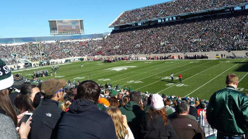 Spartan Stadium, section: 21, row: 27, seat: 18
