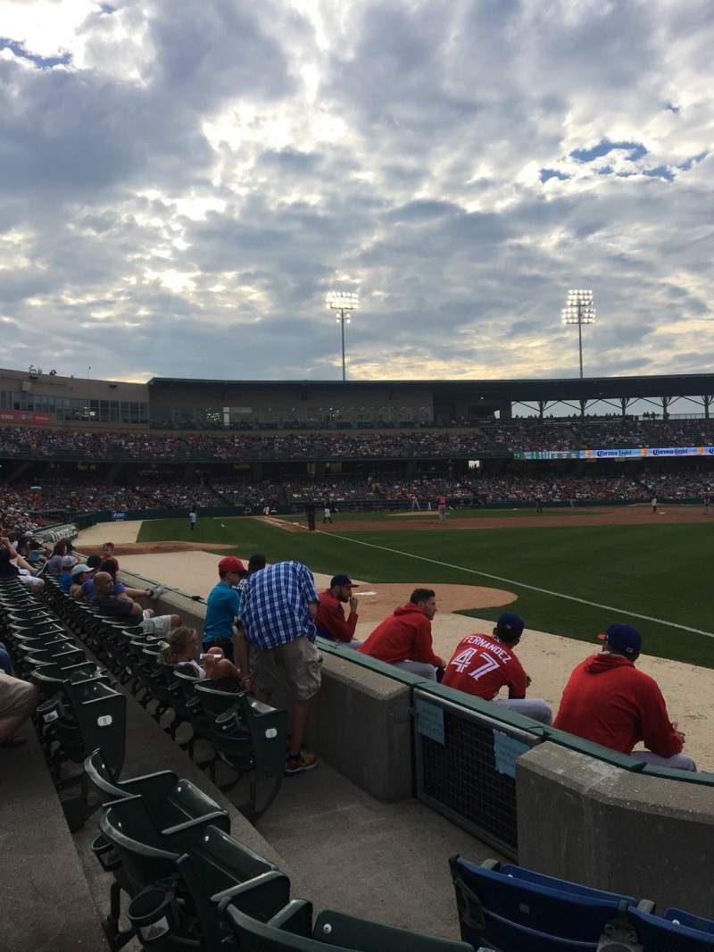 Victory Field, section: 121, row: D, seat: 6