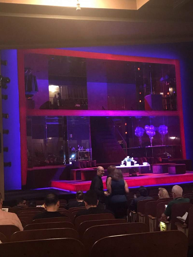 Seating view for Booth Theatre Section Orchestra L Row N Seat 5