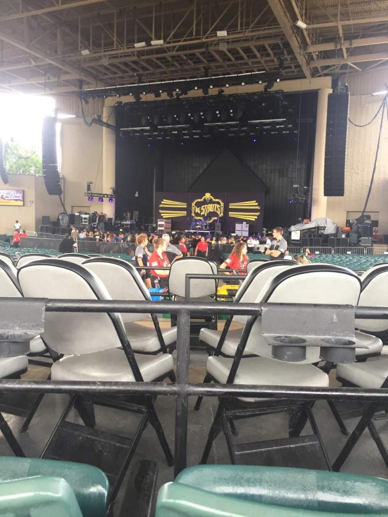 Ruoff Home Mortgage Music Center, section: G, row: F, seat: 9