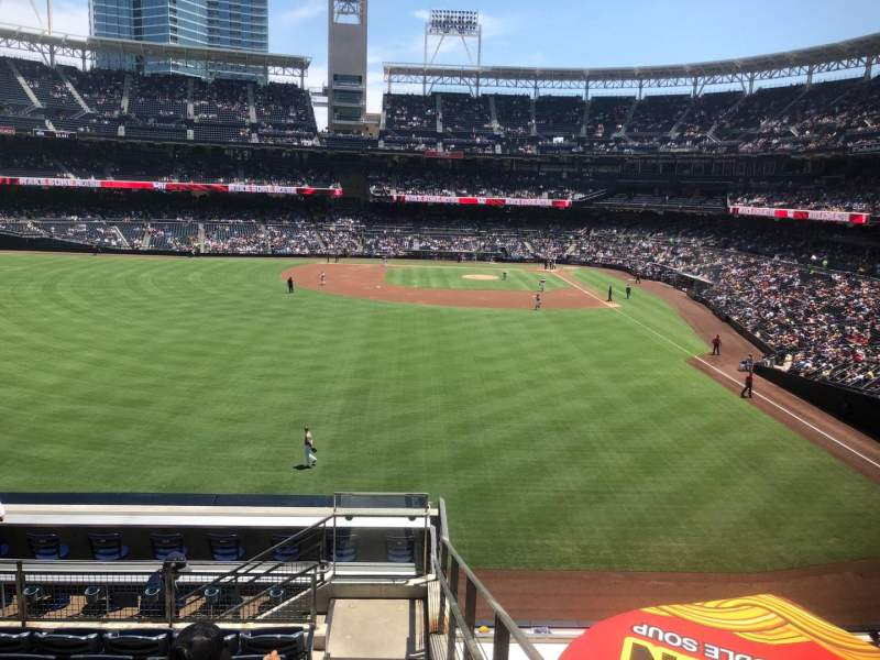 Seating view for Petco Park Section 226 Row 11