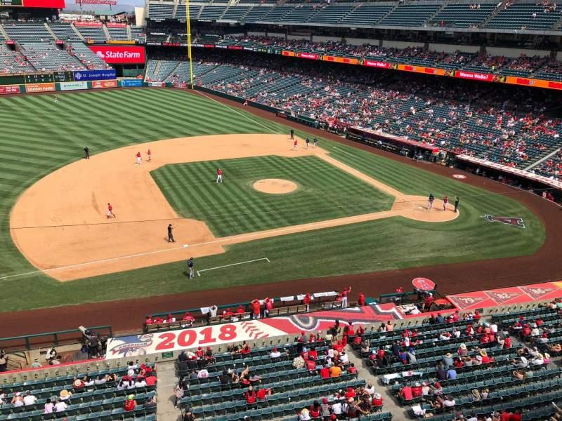 Angel Stadium, section: V411, row: A, seat: 25