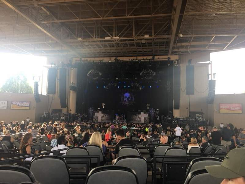Ruoff Home Mortgage Music Center, section: F, row: D, seat: 32