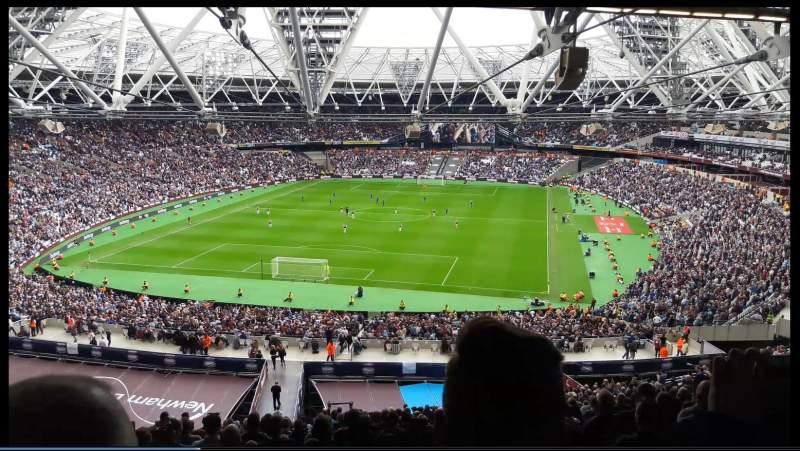 London Stadium, section: 252, row: 65, seat: 795