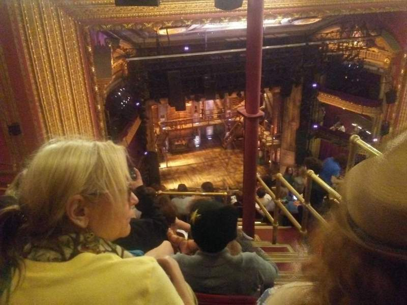 CIBC Theatre, section: Balcony L, row: N, seat: 3