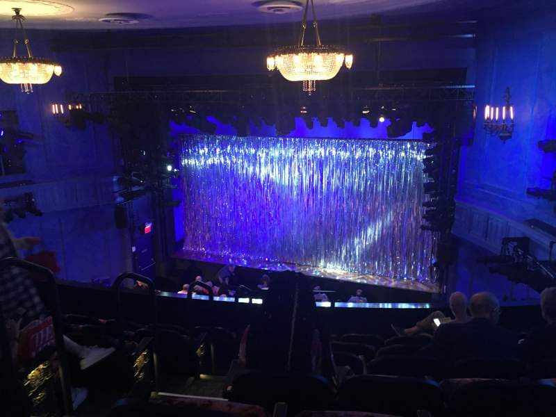 Seating view for Hayes Theater Section Mezzanine R Row G Seat 2