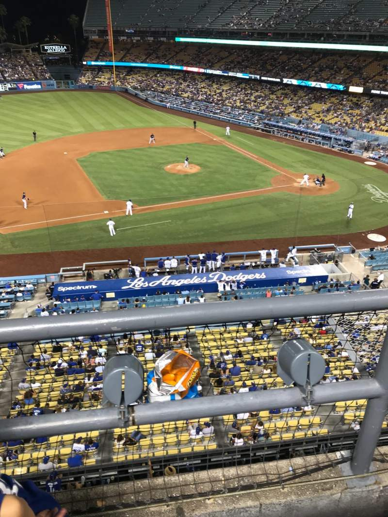 Dodger Stadium, section: 19RS, row: A, seat: 21