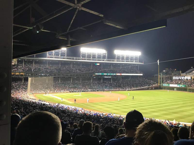 Seating view for Wrigley Field Section 231 Row 21 Seat 16
