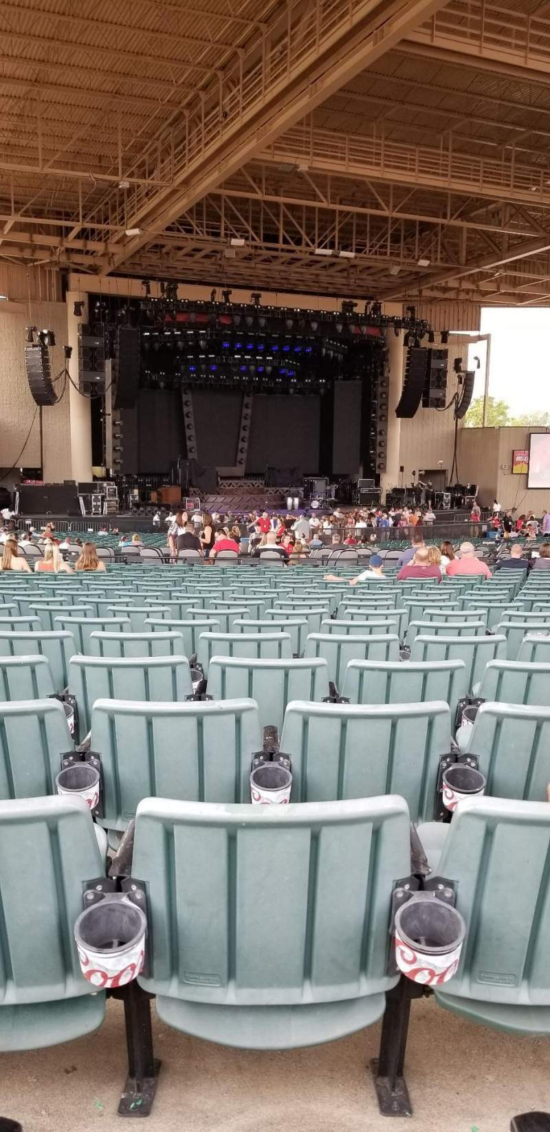 Ruoff Home Mortgage Music Center, section: E, row: X, seat: 14