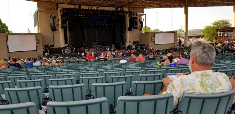 Seating view for Ruoff Home Mortgage Music Center Section E Row X Seat 15
