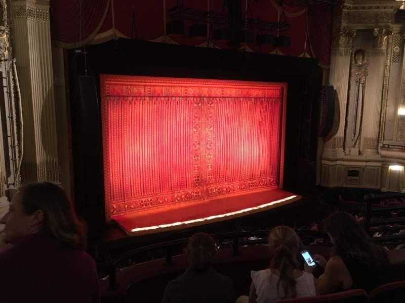 Seating view for Citizens Bank Opera House Section Dress circle left Row CC Seat 27