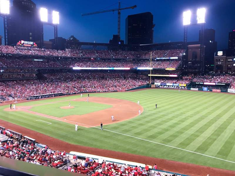 Seating view for Busch Stadium Section 237 Row 1 Seat 14