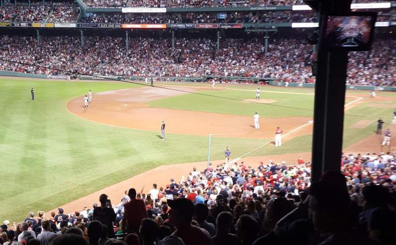 Fenway Park, section: 32, row: 14, seat: 11