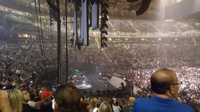 Madison Square Garden, section: 114, row: 19, seat: 20