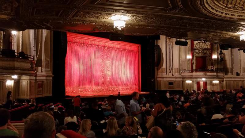 Seating view for Citizens Bank Opera House Section Lt orchestra box Row T Seat 57