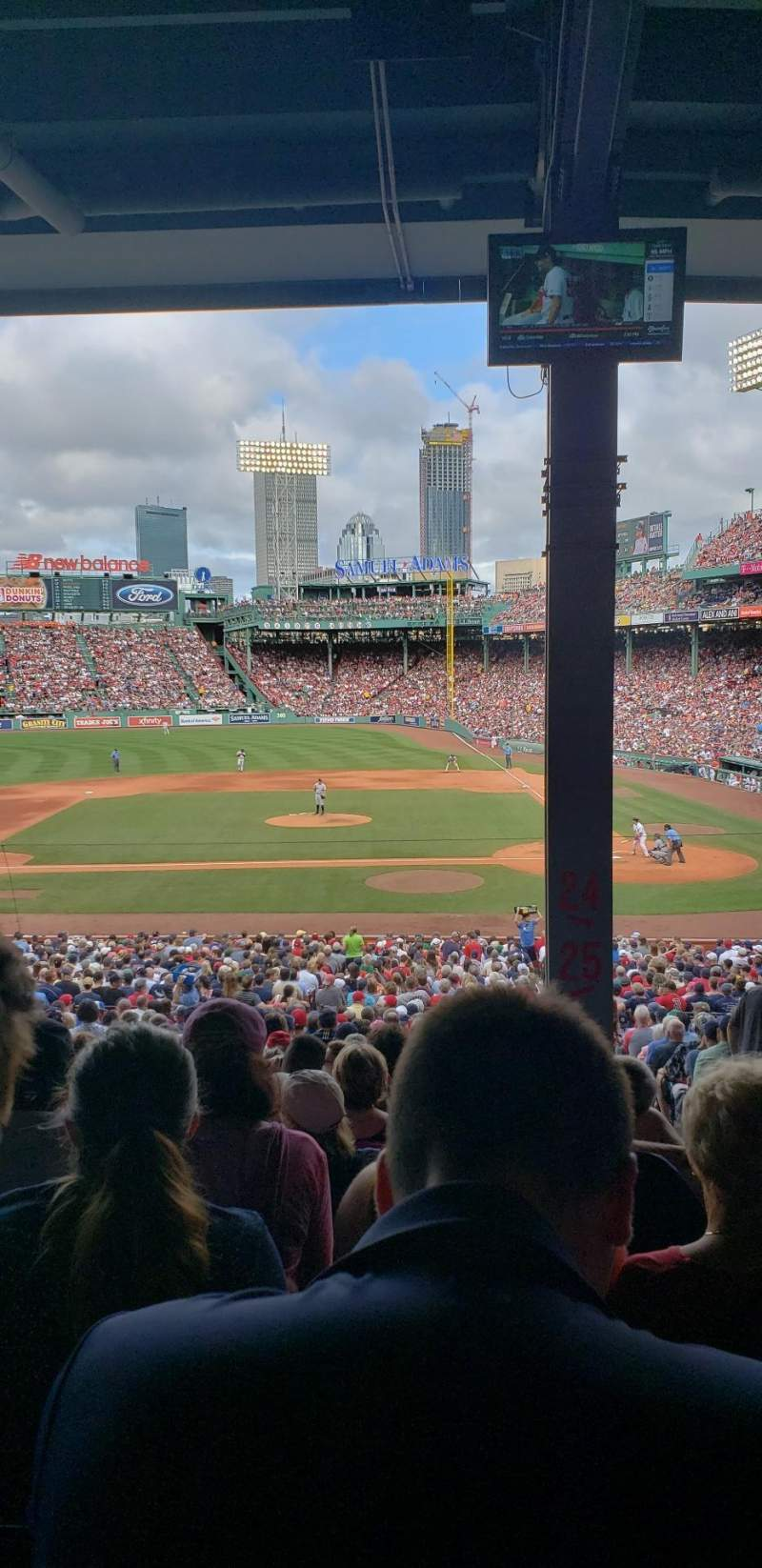 Fenway Park, section: Grandstand 25, row: 11, seat: 2