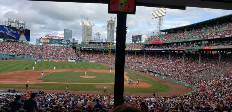 Fenway Park, section: Grandstand 25, row: 11, seat: 1