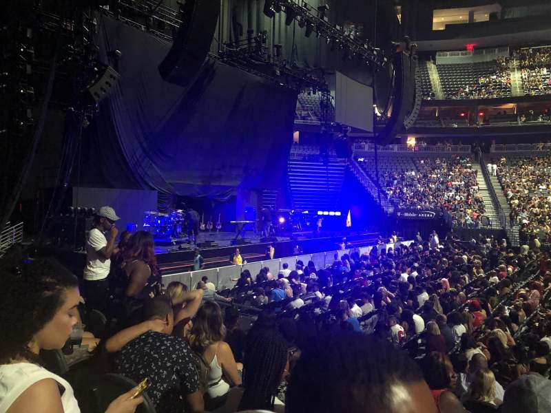 T-Mobile Arena, section: 4, row: D, seat: 11