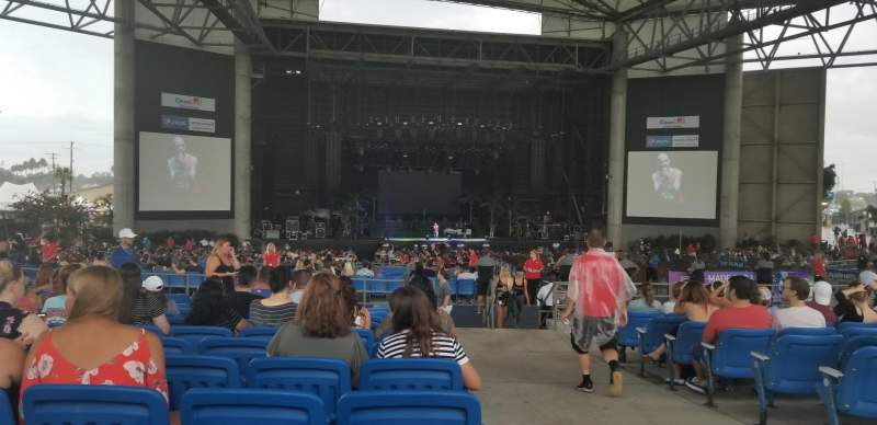 MidFlorida Credit Union Amphitheatre, section: 13, row: N, seat: 39