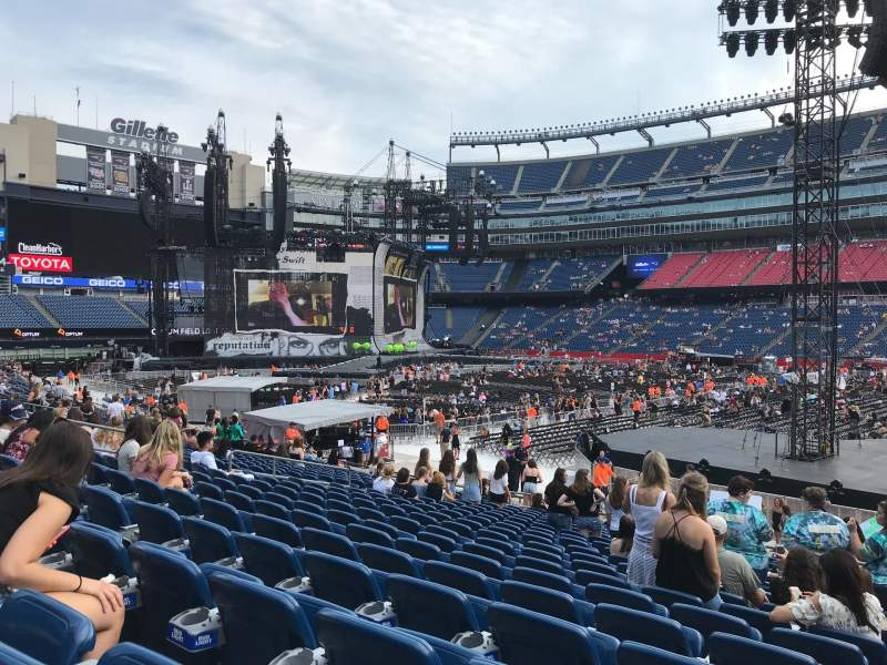 Taylor Swift At Gillette Stadium Seating Chart Pflag