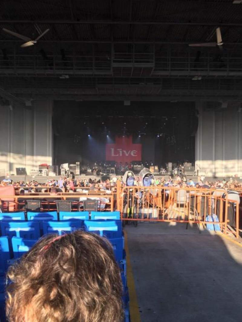 Seating view for PNC Music Pavilion Section 7 Row P Seat 1