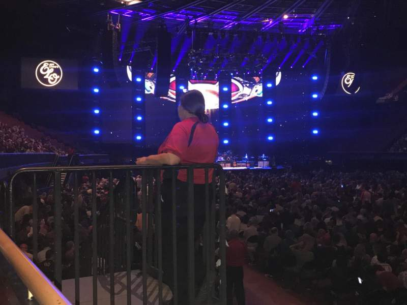 The Forum, section: 131, row: 1, seat: 7