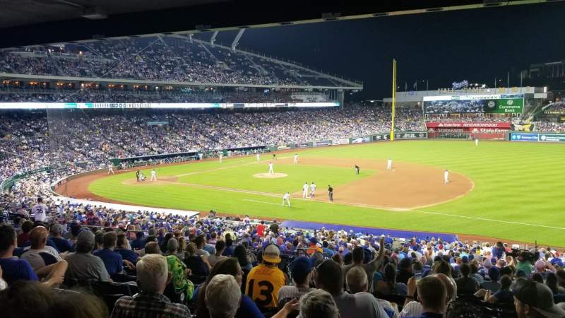 Seating view for Kauffman Stadium Section 239 Row Pp Seat 4