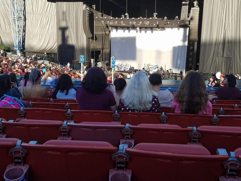 Seating view for Shoreline Amphitheatre Section 201 Row O Seat 15