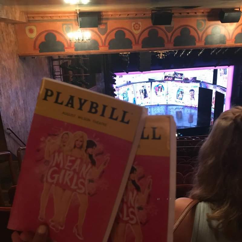 August Wilson Theatre, section: MezzL, row: Q, seat: 17,19