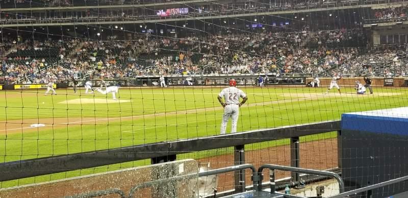Citi Field, section: 124, row: 2, seat: 1