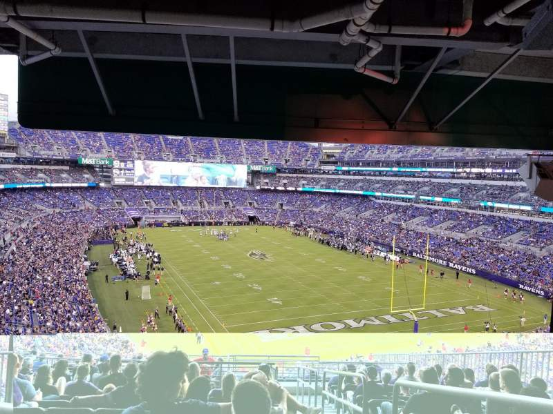 M&T Bank Stadium, section: 244, row: 17, seat: 4