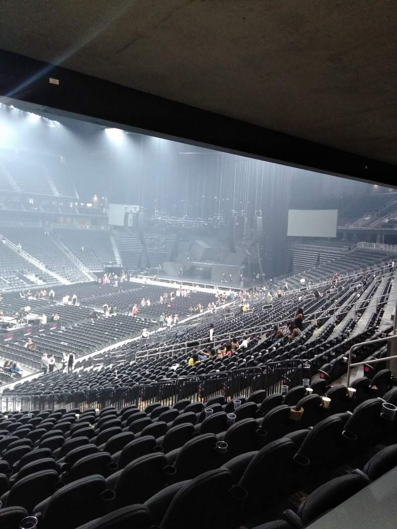 T-Mobile Arena, section: 13, row: Table 3, seat: Box Seat