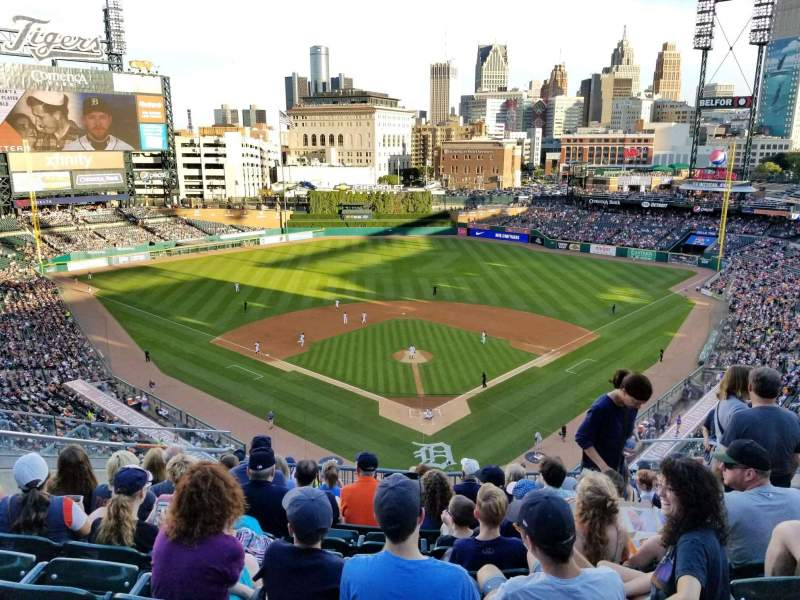 Seating view for Comerica Park Section 328 Row 9 Seat 11