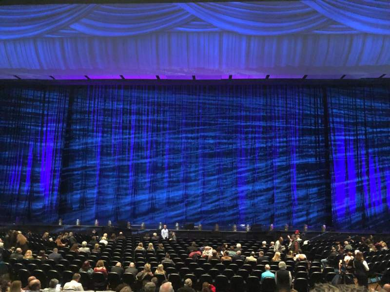 Park Theater at Park MGM, section: 203, row: K, seat: 7-8