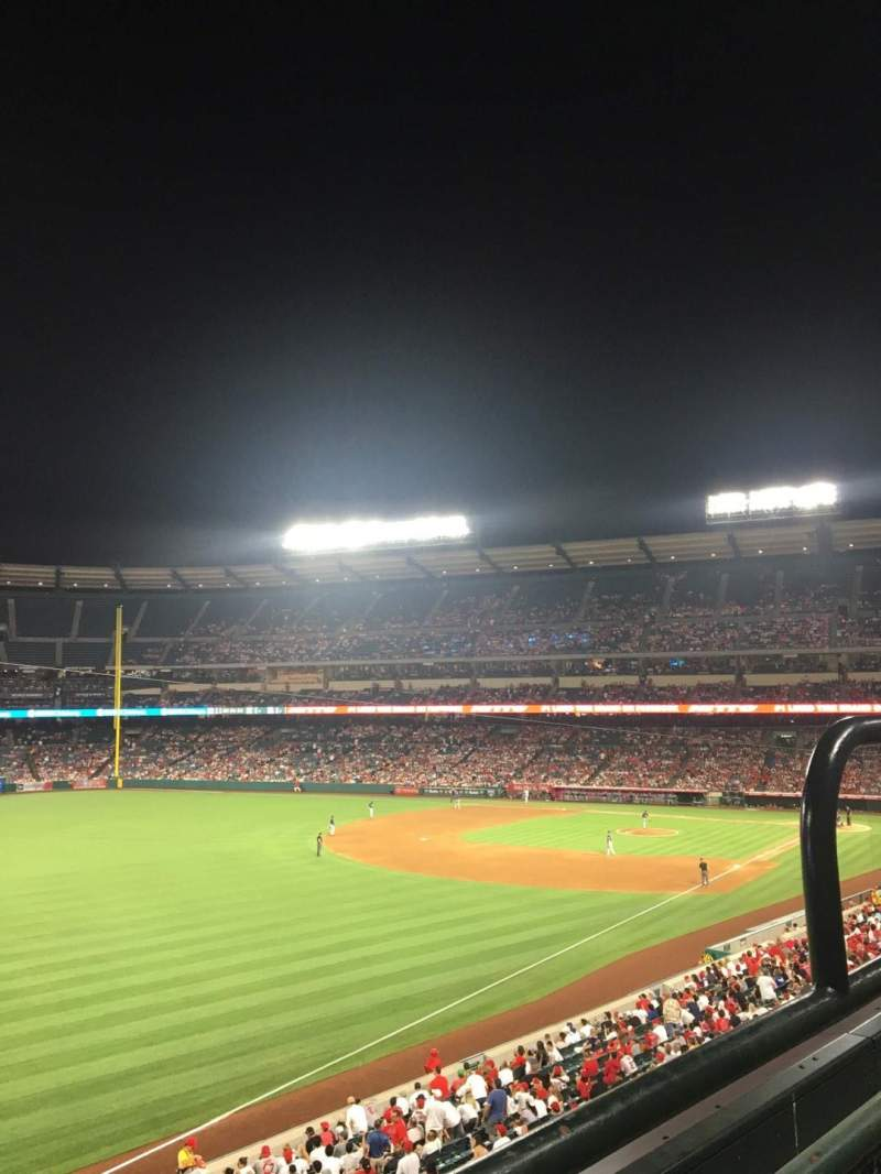 Seating view for Angel Stadium Section C306 Row 1 Seat 13