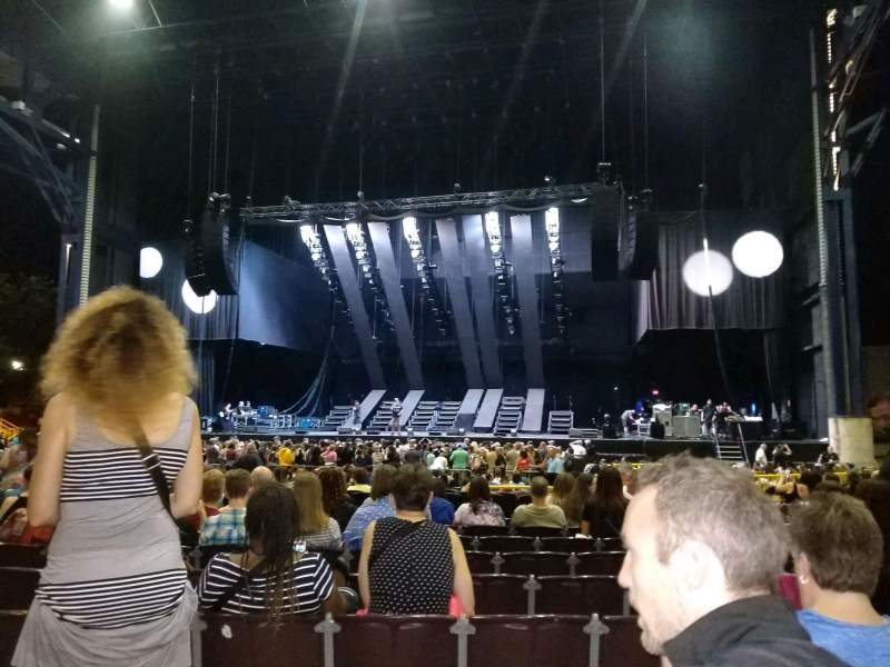 Seating view for Jiffy Lube Live Section 102 Row m Seat 7