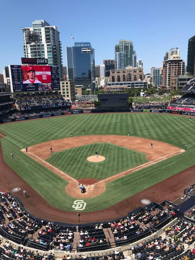 PETCO Park, section: 301, row: 3, seat: 9