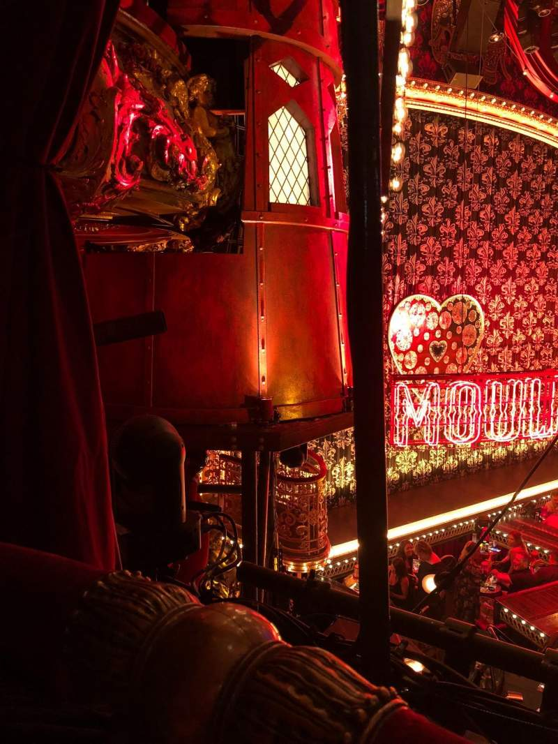 Seating view for Emerson Colonial Theatre Section Dress circle Row A Seat 23 and 25