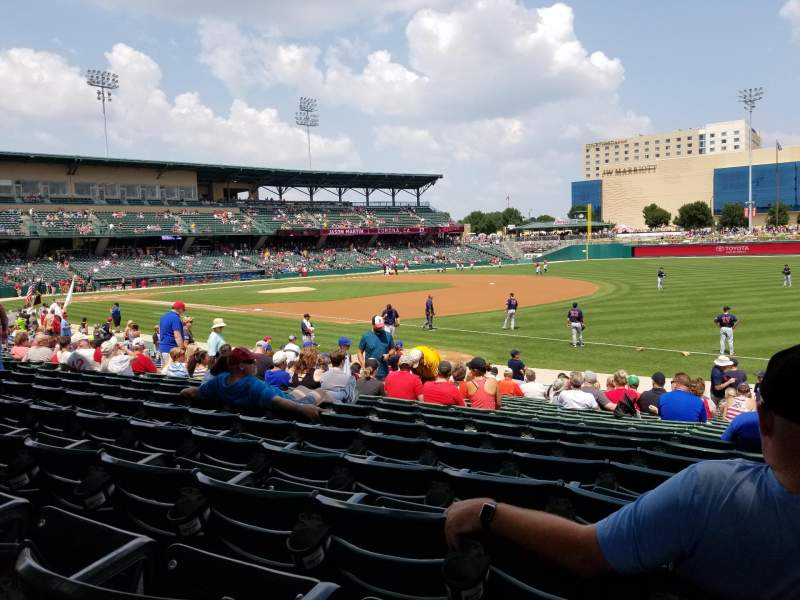 Victory Field, section: 119, row: T, seat: 18