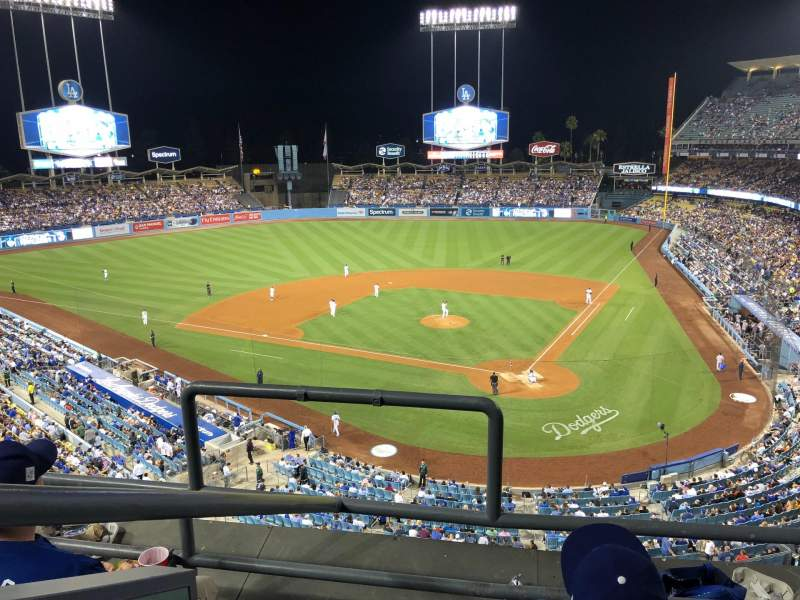 Seating view for Dodger Stadium Section 5RS Row 3 Seat 20